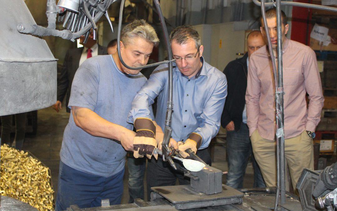 Leading consultants visit Austrian valve factory